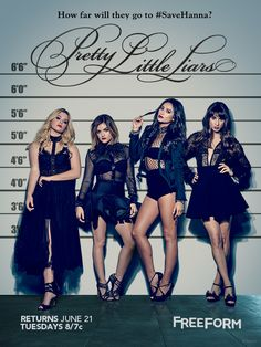Tick, Tock, it's here! Check out the new #PLL poster! #SaveHanna