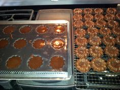 Brownie bites made in Demarle mini crown tray...use any brownie mix...small scoop and bake for 20 min at 350 degrees