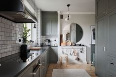 A Grey Scandinavian Apartment with Art-Filled Living Room - The Nordroom