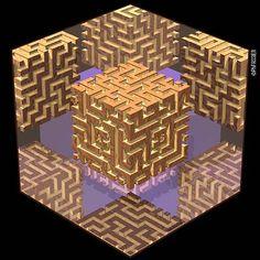 Les Faces Cachées du Cube - III- Dragon Magazine n°42 Juin-Juillet 1998
