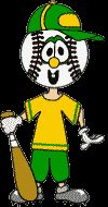 Sports Buddies: Benny Baseball Paper Craft, There's More Sports Themed Buddies Too! So Easy and Fun to Celebrate the Olympics too! Summer Activities For Kids, Camping Activities, Art Activities, Crafts For Kids, Activity Ideas, Craft Ideas, School Projects, School Ideas, Art Projects