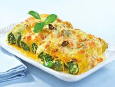 Das Rezept für Spinat-Ricotta-Cannelloni und weitere kostenlose Rezepte auf LECKER.de