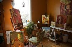 home painting studio - Google Search