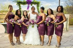 "A ""Butterfly Themed"" Purple And Silver Wedding In Delaware - Munaluchi Bridal Magazine"