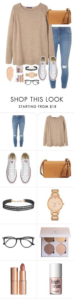 """going to Tennessee (deleted my other set)"" by simplyytorii ❤ liked on Polyvore featuring Dorothy Perkins, MANGO, Converse, Tory Burch, Humble Chic, Kate Spade, Gucci, Charlotte Tilbury, Benefit and Shiseido"
