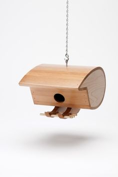 Birdhouses are Eco-Friendly. The tropical hardwoods used are scraps from tropical hardwood floor manufactures. All glues and finishes are water based.