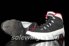 purchase cheap a9e2b 2ddc6 Johnny Kilroy Young Air Jordan IX Boys Shoe Black Metallic Platinum Gym Red  302370 012 Air