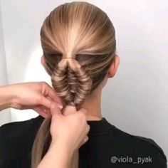 Do you look for hair care, hair trends , hair tutorials and more? Little Girl Hairstyles, Hairstyles For School, Latest Hair Trends, School Hair, Hair Dye Colors, Beauty Magazine, Bridal Updo, Agar, Hair Dos