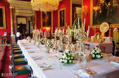 So which one was for the soup again? Harewood House, Chatsworth House, Downton Abbey Castle, Woburn Abbey, Hatfield House, Ely Cathedral, Modern Entry, Dining Room Table, Dining Rooms