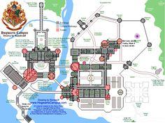 hogwarts floor plan - Google Search
