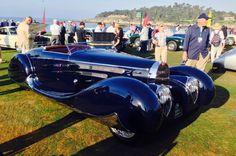 1939 Bugatti Type 57C Vanvooren Cabriolet