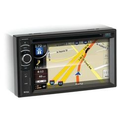 "Boss Audio 6.2"" Double-din In-dash Navigation Dvd Receiver With Bluetooth & Ipod Control"