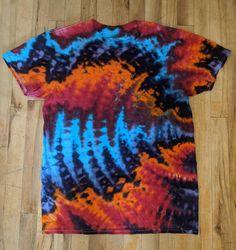 Ice Tie Dye, How To Tie Dye, Tye Dye, Diy Tie Dye Shirts, Dye T Shirt, Shibori, Tinta Natural, Tie Dye Tutorial, Tie Dye Crafts