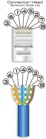 Learn how to do your own cat 5 wiring diagram and cat 6 wiring with this diagram