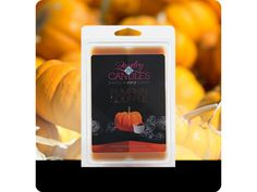 """A true to smell fragrance bursting with fresh pumpkin. This scent is great to get you """"in the mood for fall!"""" Mouthwatering notes of butter, sugar, and spices complete this irresistible bakery scent. . Jumbo 5.5oz package of 6 scented wax tarts - 100% all natural soy wax tart. Jewelry hidden in every package of scented wax tarts. $15.95 Visit us!!"""