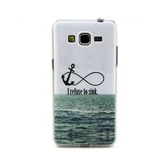 TOOPOOT(TM) I Refuse To Sink TPU Case Cover for Samsung Galaxy Grand Prime G530