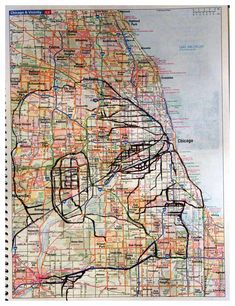 50 Ways to Map the City, Per Street and Graffiti Artists: The time honored study and practice of cartography ventures into the conceptual as well as the physical, and we find that for many artists the street is as much about poetry and perception as it is about aerosol and wheat-pasted paper.