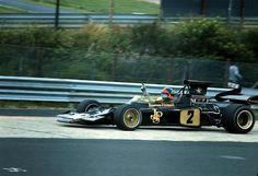 Emerson Fittipaldi  Lotus 72D