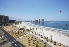 Iquique, playa de la Cavancha