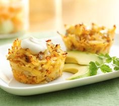 Mexican Hash Brown #Breakfast #Cupcakes