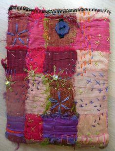 Jane LaFazio - Love her mix of ribbon artwork and stitches.