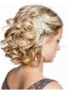 Prom Hairstyles For Short Hair Formal Short Hairstyle With Brown Waves Cute Look For Date  Short
