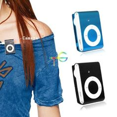 S9Q Mini MP3Hidden Camera DVR Fashion Video Recorder Player DV by Generic. $12.88. Tips: This item is shipped from China(Hong Kong); Delievey time: 10-15 business days.Available Color: Black / Blue ; Please write down your favourite color by Amazon Message/Email ! if no declaration, we will send this item out in Blue ! Top quality and newest model. Record video at 640 x 480 @25 f/s  Take Photos at 1280*960   Description This item is a Mini clip MP3 Shape player Fa...