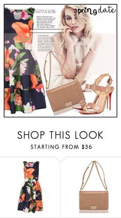 """""""spring date"""" by lajla-lap ❤ liked on Polyvore featuring Pilot, Chanel and Christian Louboutin"""