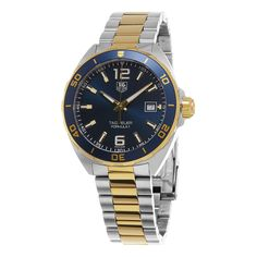 Tag Heuer Men's WAZ1120.BB0879 'Formula 1' Dial Stainless Steel Two Tone Swiss Automatic Watch