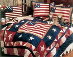 Americana Quilt Love
