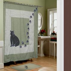 Patch Magic Bear Country Shower Curtain - CZBCTY