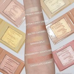 Kylighters in all shades: Jaclyn hill loves French vanilla, salted caramel and cotton candy cream