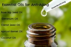 Certain essential oils are better for anti aging and wrinkle prevention than others. I love using essential oils for my homemade anti aging creams and serums. I have noticed a reduction in age spots, freckles (I have them from overexposure to the sun), scars (a