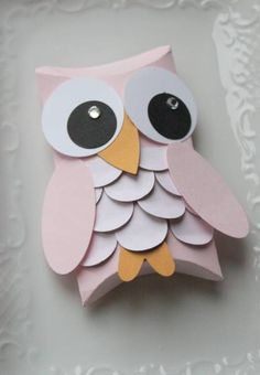 Owl Pillow Box by sweetpeas - Cards and Paper Crafts at Splitcoaststampers