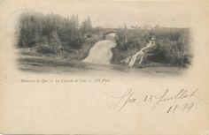 1899, Watervallen van Coo