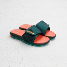 1ba4eb864 Buy 2013 New Dark Atomic Teal Total Orange Atomic Teal Gators Nike Air  Lebron Slide 2 Elite 578251 383 For Sale