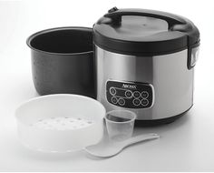 Aroma - Professional 4-Quart Slow Cooker - Silver/Black