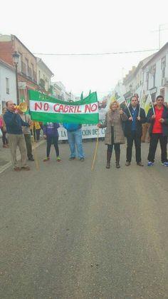 HORNACHUELOS: HORNACHUELOS SE MANIFIESTA CONTRA AMPLIACIÓN DEL C...