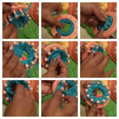 How-to-Loom-Knit-a-Flower