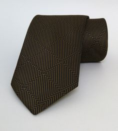 Brown Mens Tie 7,5 cm (2,95 #handmadeatamazon #nazodesign