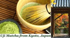 Uji Matcha tea from, Kyoto, Japan -100% Pure & Natural, Authentic Japanese Green tea powder -Cold water soluble