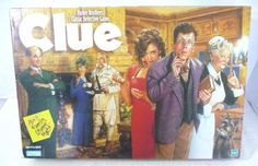 Clue Board Game Classic Detective Complete 1998 Parker Brothers #ParkerBrothers