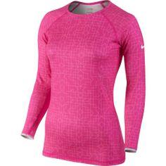 Nike Women's Pro Hyperwarm Printed Long Sleeve Shirt Dick's Sporting Goods