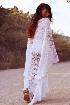 Now, don't get me wrong, I do love lace.. But at some point you need to ask yourself, Do I look like I'm wearing my Mother's table cloth? Ummm yes... Yes you do. lol boho fail.
