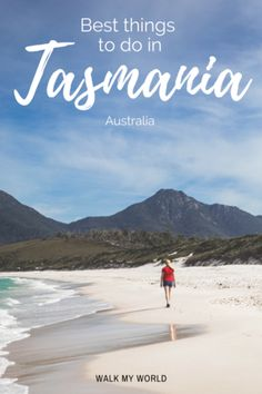 If you love making the most of the great outdoors, wildlife watching and great food then Tasmania is one state you don't want to miss. Here's our guide to the best things to do in Tasmania. Tasmania Road Trip, Tasmania Travel, Australia Travel Guide, Visit Australia, New Zealand Travel Guide, Travel Guides, Travel Tips, Outdoor Travel, Adventure Travel