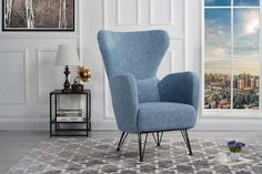 Looking for Mid-Century Modern Linen Fabric Accent Armchair Shelter Style Living Room Chair (Blue) ? Check out our picks for the Mid-Century Modern Linen Fabric Accent Armchair Shelter Style Living Room Chair (Blue) from the popular stores - all in one. Living Room Grey, Living Room Chairs, Living Room Furniture, Home Furniture, Living Room Decor, Home Shelter, Mid Century Modern Fabric, Blue Armchair, Diy Home