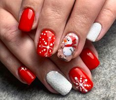 Snowflake Nails, Snowflakes, Snowman Nails, Passion, Beauty, Snow Flakes, Beauty Illustration