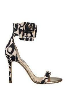 Odeum Printed Pumps with Ankle Buckle | GUESS.com