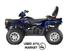This is cool blue 2009 #Polaris Touring 800 EFI is most comfortable and most versatile #four_wheeler_ATV. It is the ultimate combination of big-bore power and plush two-up comfort. It has all the extra features you need to make every two-up touring mile feel as good as the first. It's available in Inglewood, CA, USA by La cycle sports. Just call them up on (310) 677-5800 or logon UsedAtvMarket.Com to know more about this sexy blue ATV.