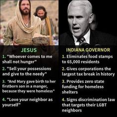 Pence is evidence that for some Christians, hypocrisy is their chief virtue.